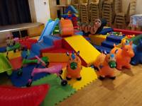 Little Munchkin Party & Play Hire - Soft Play Hire for Under 5's