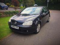 VOLKSWAGEN GOLF 2.0 GT TDI LOW MILEAGE MANUAL DIESEL HATCHBACK BLACK 5 DOOR BARGAIN QUICK SALE