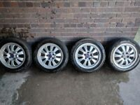 SAAB 16'' alloys with winter tyres