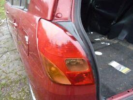 n/ side rear light for 02 plate toyota corolla verso .