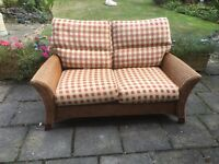 Conservatory sofa, chair and stool