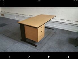 Office desk for sale, £45 each. Very sturdy.PLEASE CHECK OUT. I HAVE OTHER ITEMS ON Shpock.
