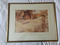 5 No. Russell Flint Framed Prints