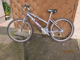 Girls Raliegh pedal cycle