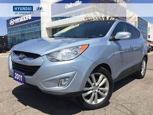 2011 Hyundai Tucson LTD | AWD | ALLOYS | LEATHER | PAN ROOF | PO