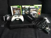 XBOX 360 XBOX360 with games and accessories