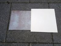 GOOD QUALITY CERAMIC FLOOR TILES CREAM TILES AND BRONZE BROWN ALL BRAND NEW