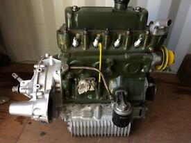 Mini engine and Gearbox