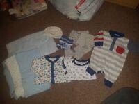 baby boys newborn and 0-3 clothes bundles £5 each antrim