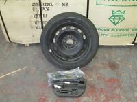 TYRES-BRAND NEW ON RIM-WITH JACK, BRACE AND TOWING EYE