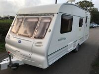 4 Birth Bailey Ranger 510-4, Swivel Toilet & Walk-In Shower and Dressing Room, Full Awning and more