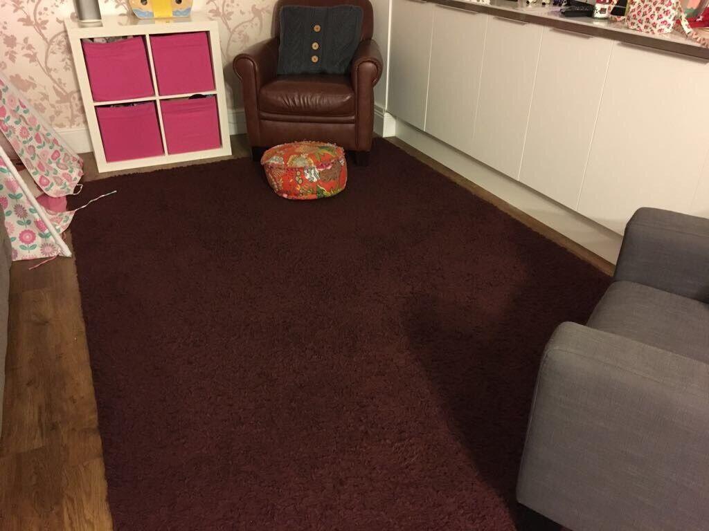 200x300 burgundy, 'Next' rug