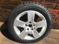 Audi Alloy Spare Wheel 5x112 New Tire 205/55 R16