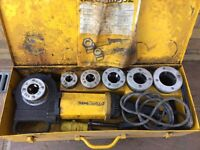 """REMS AMIGO 2 PIPE THREADING MACHINE 1/8""""--2"""" ONLY USED ON 2 CONTRACTS COMPLETE WITH PIPE CLAMP"""