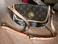 Leather bag small size