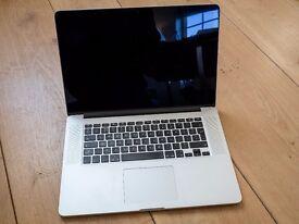 "MacBook Pro 2013 15"" i7 16GB Ram 512MB Retina Display. Excellent condition. Original Box and power"