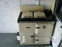 Rayburn Royal oil range cooker for parts or repair. NO TEXTS.