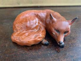 Beswick Curled Fox