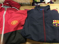 100 assorted- new & official football clothing joblot