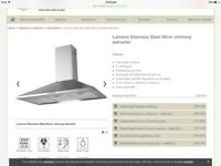 Lamona Chimney Extractor cooker hood 90cm