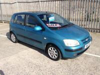 2003 Hyundai Getz automatic full years mot