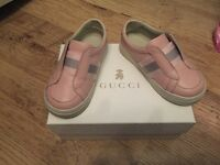 Pink Gucci Trainers