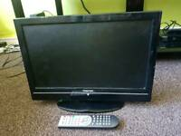 Toshiba,19DV500B,LCD 19inch tv combi DVD player with remote control ,hdmi port