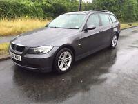 2008/08 BMW 320D SE TOURING..GREY..1 PREVIOUS OWNER..MOTORWAY MILES..BARGAIN!!