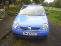 vw lupa great wee car