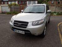 2006 Hyundai Santa Fe 2.2 CRTD CDX+ 7 Seats Automatic @07445775115 1+Owner+Sensor+Leather+Heated 4x4