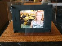 Rare Sony Digital photo frame with solid glass surround
