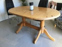 Solid large dining table