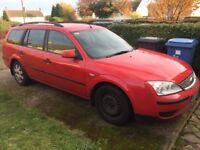 2006 Ford Mondeo 2.0 LX TDCI (Diesel) Estate - Red