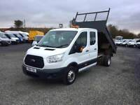 2015 FORD TRANSIT 125 DOUBLECAB TIPPER