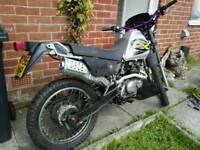 Suzuki Dr 125 Road reg 125cc enduro motocross mx sx pit bike off road legal £780 250cc, yz crf rm kx
