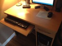 Computer desk& chair
