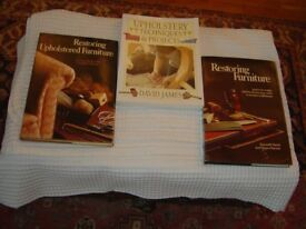 3 Books on furniture restoration. Bought for projects but never used.