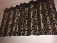 Black Gold Curtains Curtains Blinds Windows Fixtures For
