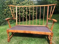 Conservatory chair and 2 seater settee