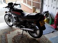 Honda 250 Superdream with very low mileage from new