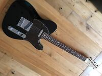 Black USA Standard Fender Telecaster (with a few upgrades)