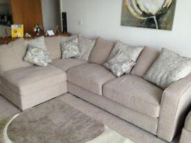 Corner sofa, immaculate condition