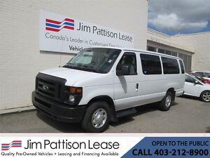 2012 Ford E-350 5.4L RWD XL 15 Pass. Van w/ LOW KM's