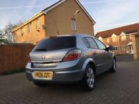 Vauxhal Astra active 1.6 petrol twinport SILVER. TINTED REAR AND BACK