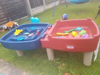 little tikes sand & water table