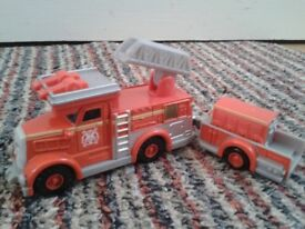 Thomas take-n-play Flynn & fire cart, as new, collect National Ave