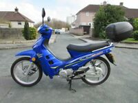 Motorbike for sale ideal commuter or learner.