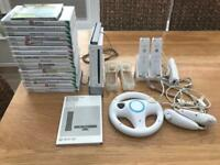 Nintendo Wii Console, Wii Fit Board, Games & Accessories