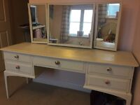 Chalk painted stag dressing table