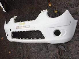 2008 genuine Kia Picanto front bumper can post